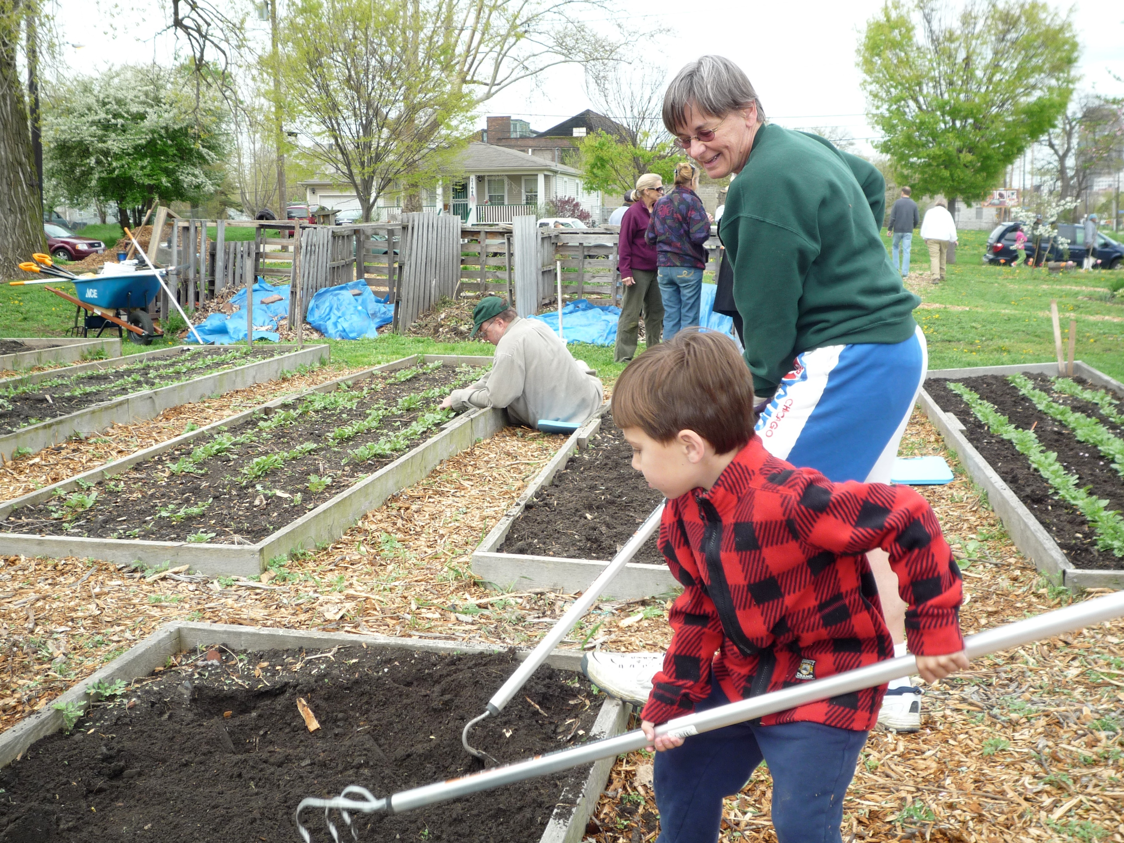 Trinity Community Garden Planting Interrupted By God