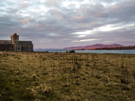 Iona at Sunset